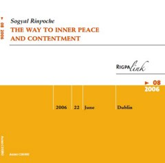 The Way to Inner Peace audio CD or DVD