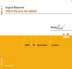 True Peace of Mind CD & DVD