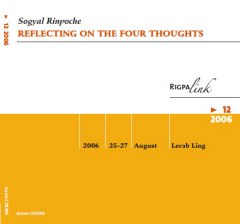 Reflecting on the Four Thoughts CD & DVD