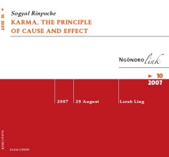 Karma, the Principle of Cause and Effect CD audio