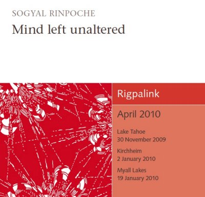 Mind left unaltered CD or DVD