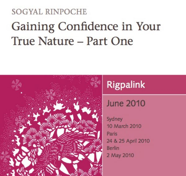 Gaining Confidence in Your True Nature – Part One CD or DVD