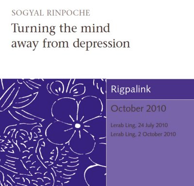 Turning the mind away from depression CD or DVD
