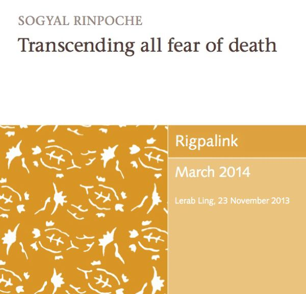Transcending all fear of death MP3 or DVD