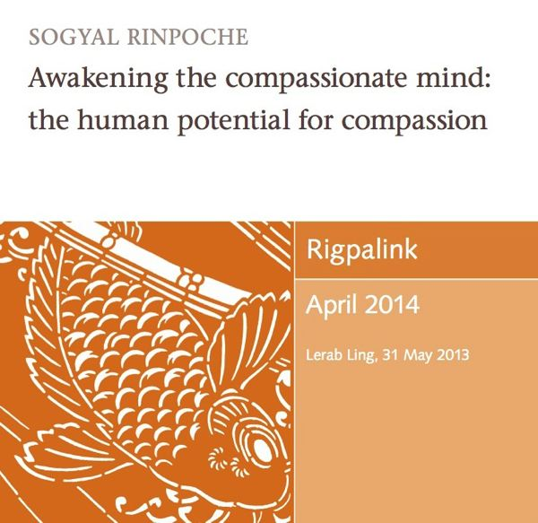 Awakening the compassionate mind: the human potential for compassion MP3 or DVD