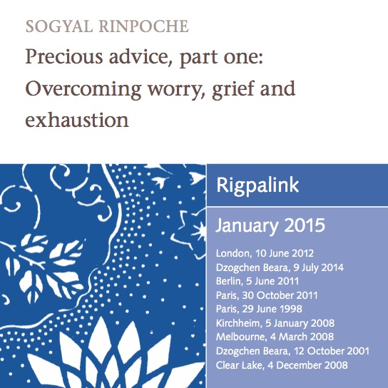 Precious advice, part one: Overcoming worry, grief and exhaustion MP3 or DVD