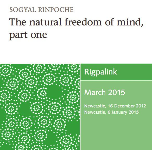 The natural freedom of mind, part one MP3 or DVD