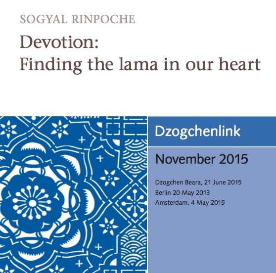 Devotion: Finding the lama in our heart MP3 CD