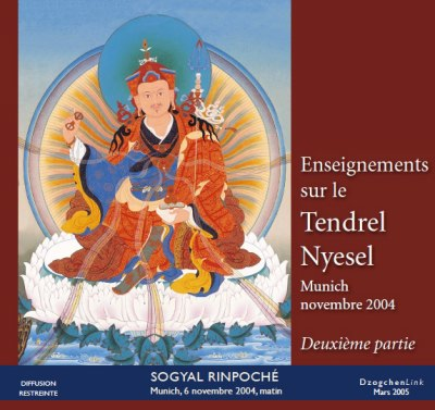 Enseignements sur le Tendrel Nyesel - 2ème partie CD