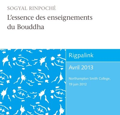 L'essence des enseignements du Bouddha CD ou DVD