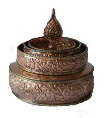 Mandala Offering Set Copper 2 sizes