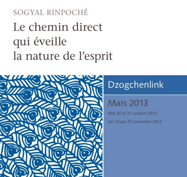 Le chemin direct qui éveille la nature de l'esprit CD