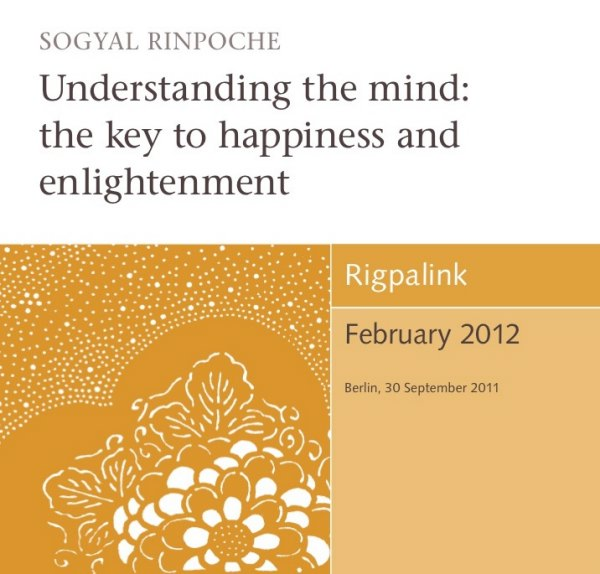Understanding the mind: the key to happiness and enlightenment CD or DVD