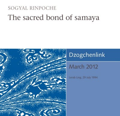 The sacred bond of samaya CD