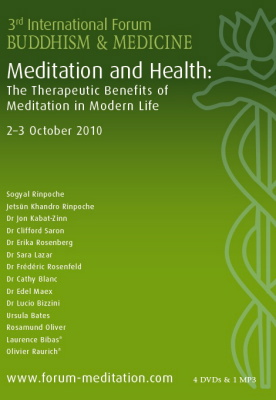 3rd International Forum Buddhism and Medicine Compilation 1 mp3+4 DVDs