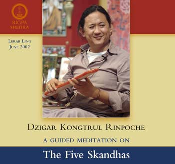 Guided Meditation on the Five Skandhas CD
