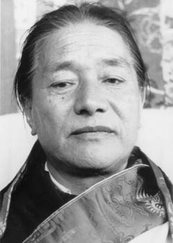 Dudjom Rinpoche Face (b/w) Photos 4 sizes