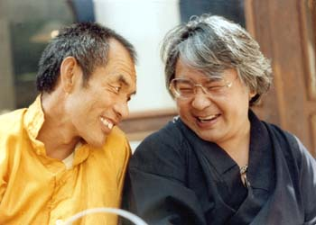 Nyoshul Khen Rinpoche with Sogyal Rinpoche Photos 3 sizes