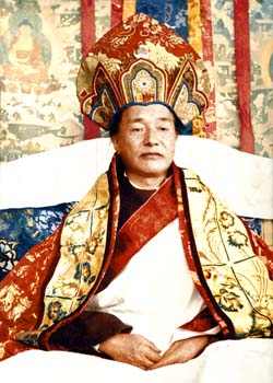 Kyabjé Dudjom Rinpoche with hat Photos 4 sizes