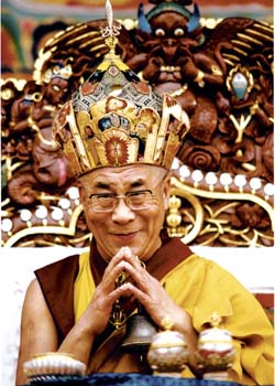 His Holiness the Dalaï Lama Photos 4 sizes