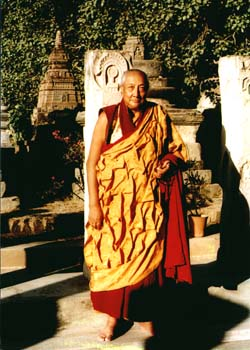 Dilgo Khyentse Rinpoche Bodhghaya Photos 3 sizes