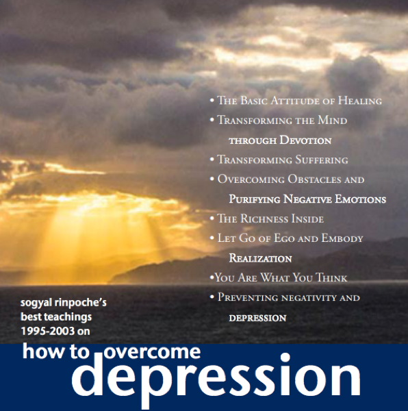How to Overcome Depression MP3 audio CD
