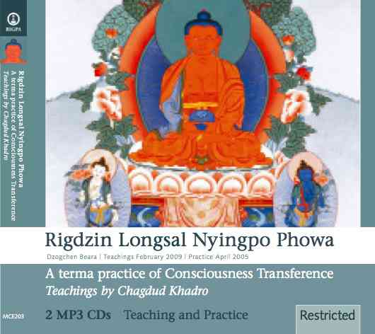 Rigdzin Longsal Nyingpo Phowa A terma practice of Consciousness Transference
