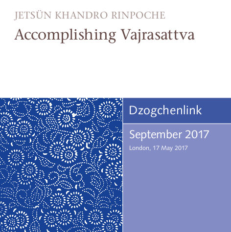 Accomplishing Vajrasattva MP3 CD