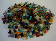 Semi precious stones for Mandala Offering