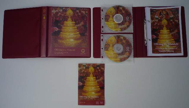 Mandala Offering Special offer ! Binder, Text, DVD and MP3
