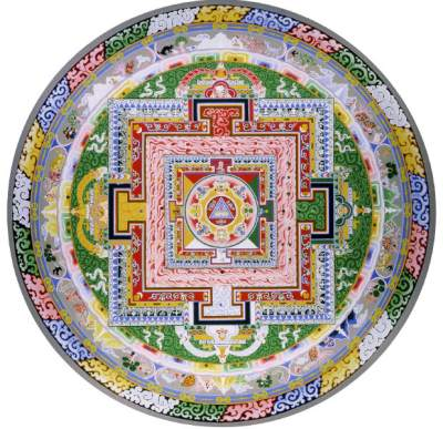 Yang Nying Pudri mandala card for shrine
