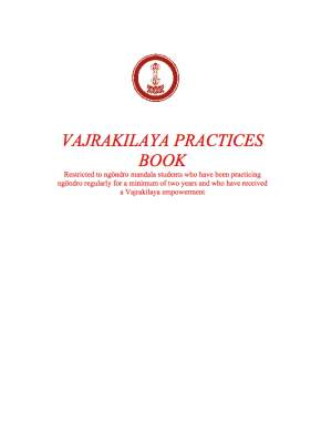 Vajrakilaya daily practice book (YNP) print or download
