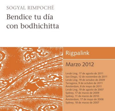 Bendice tu día con bodhichitta CD o DVD