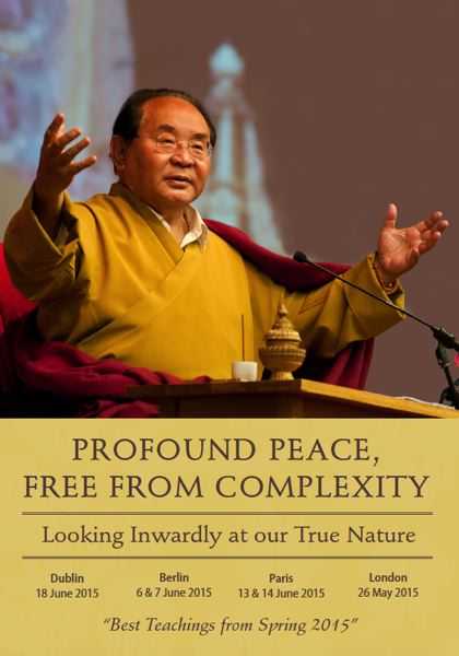 Profound Peace,Free from Complexity 4 DVD & 1 booklet
