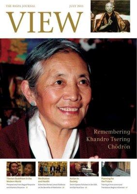 View, The Rigpa Journal Remembering Khandro Tsering Chödrön