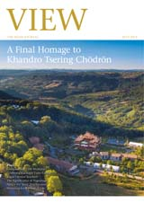 View, the Rigpa journal - A Final Homage to Khandro Tsering Chödrön