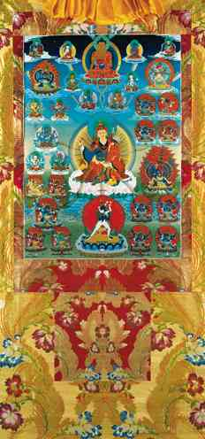 Tendrel Nyesel Vinyl Thangka 6 sizes