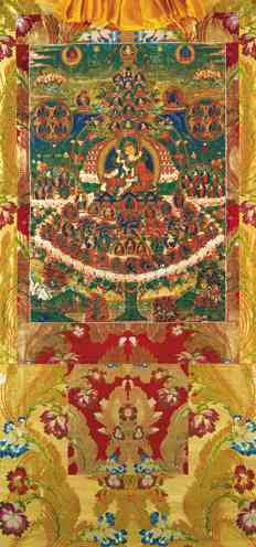 Field of Merit Vinyl Thangka