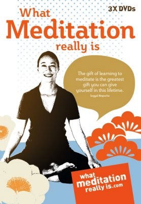 What meditation really is 3 DVDs