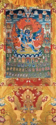 Vajrakilaya Vinyl Thangka 5 sizes